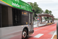 IndyGO Green Bus Route: Indianapolis, Indiana