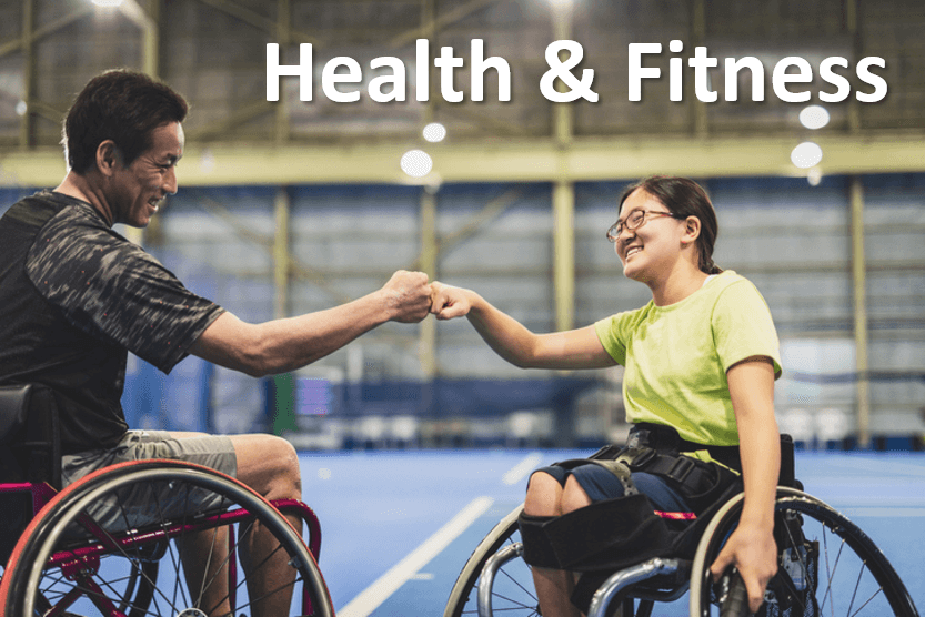 Find out about WHEELCHAIR FITNESS